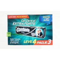 KIT Econômico Gel Dental Extra Forte
